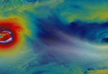 superstorm Sandy, nasa, new jersey