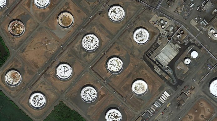 new jersey oil refinery