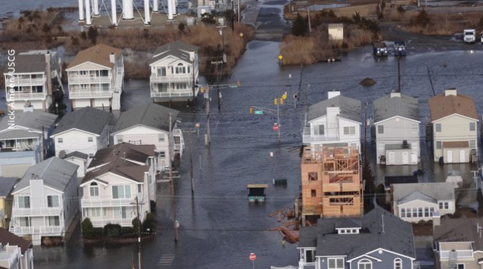 Ocean City flooded by winter storm, jersey shore