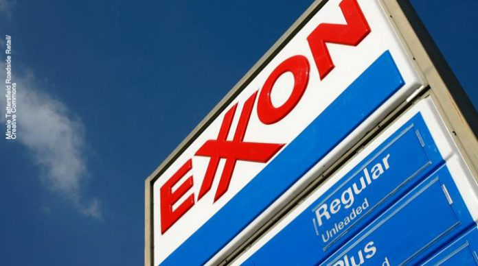 Exxon sign, nj environment news