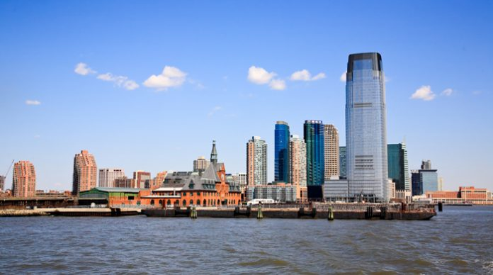 Jersey City waterfront, Hudson River