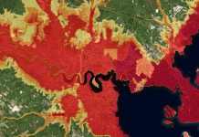 NOAA flood map, new jersey