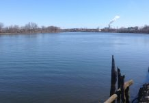 Passaic River, Newark, New Jersey