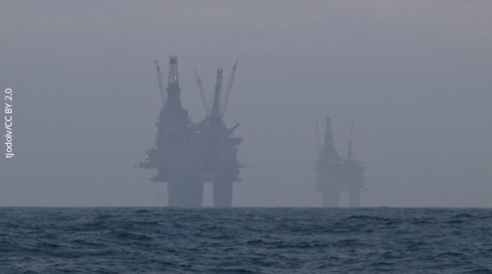 offshore oil drilling platforms