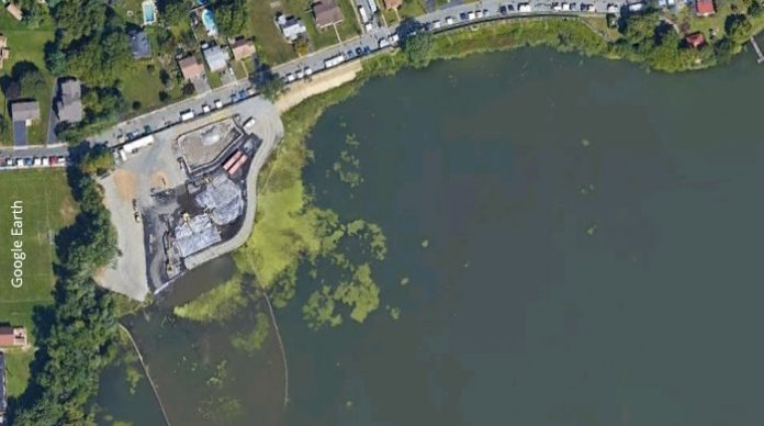 Pompton Lake, NJ, cleanup area