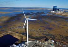 Wind turbine, ACUA, Atlantic City