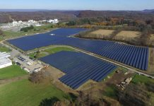 DSM solar field in Warren County, NJ