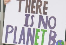 Climate Strike, There is no planet B
