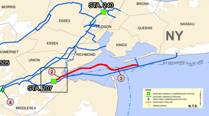 Raritan Bay pipeline - Northeast Enhancement