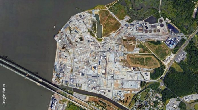 DuPont Chambers Works near Carneys Point, NJ