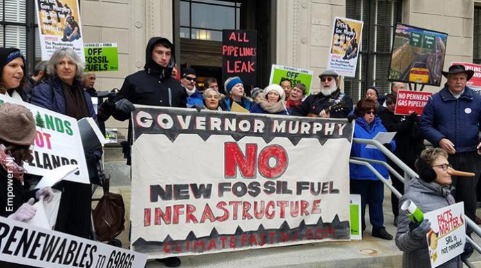 Empower New Jersey protest