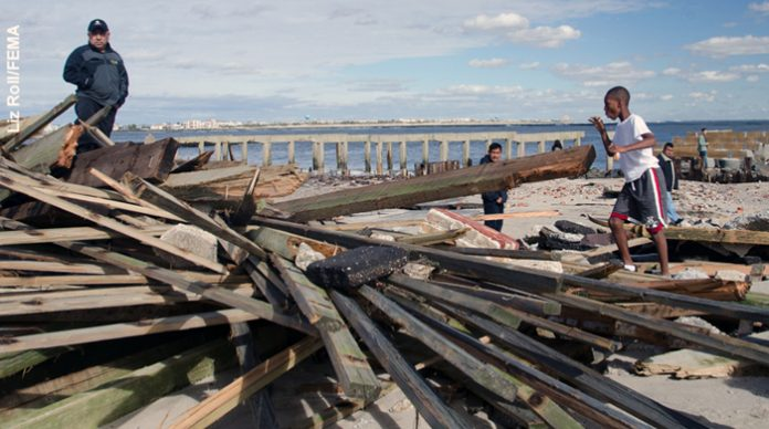 Atlantic City, Sandy damage