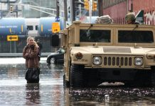 Hoboken flooded after Sandy