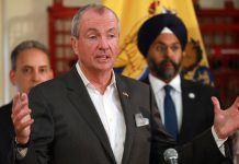 Gov. Phil Murphy and Attorney General Gurbir Grewal