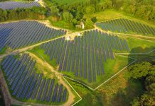 Solar farm, Holland Twsp, NJ