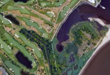 Liberty state park, golf course and Craven Point